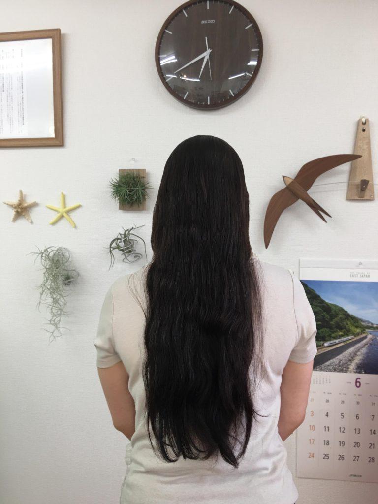 髪の毛モリモリ